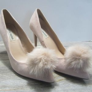 Steve Madden Pronti Pink Suede - Size 9